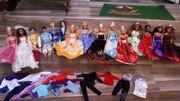 Mega Barbie Set knapp300 Teilig