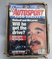 Autosport Magazine englisch kompletter Jahrgang