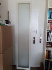 Pax Kleiderschrank weiß mit Glastüren