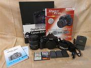 Gepflegtes Canon EOS 400D Starter-Kit
