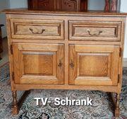 TV Schrank - Eiche Furnier - Fernsehschrank