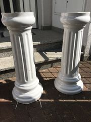 Waschbecken Säulen
