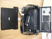 Laptop mit Servicekoffer Werkstatt Diagnose