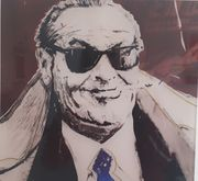 ACRYLBILD Jack Nicholson