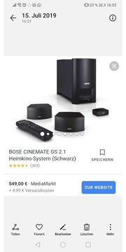Bose CineMate gs2