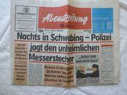 Abendzeitung von 1997 S 1 -