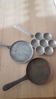 Pfannen Eisen Guß Alu für