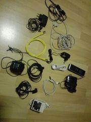 diverse Elektrokabel Ladekabel Telefon Antennenverstärker