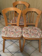 Holzstühle 3 Stück
