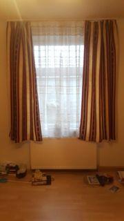 Gardinen mit Vorhang