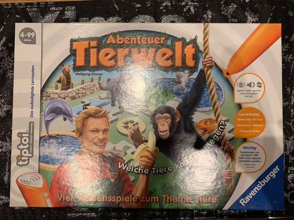 Tiptoi Spiel Abenteuer Tierwelt 4-99