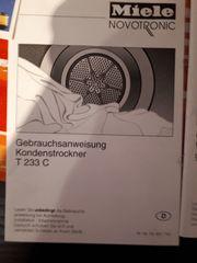 Miele Kondenstrockner Novotronic T233c