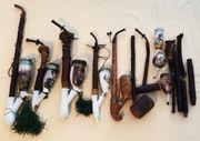 Antike Pfeifen für Sammler Porzellan-