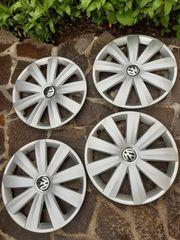 4 Original VW Felgenabdeckung 16