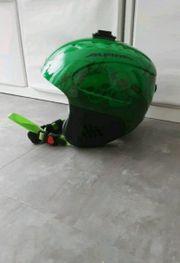 Alpina Ski Helm Kinder grün