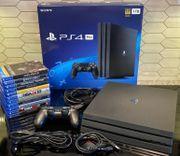 PS4 Pro mit 11 spiele