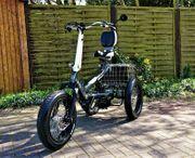 Elektro Dreirad Fatbike Sesselrad Vollgefedert