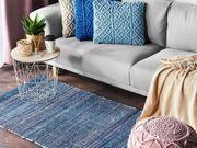 Teppich blau 80 x 150