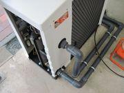 Swimmingpool - Wärmepumpe Reparaturbedarf