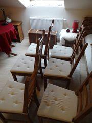 Ikea Kaustby Stühle Massivholz Antikbeize