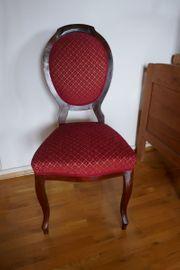 Sehr schöner alter Stuhl Sessel