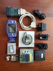 Gameboy Advance mit umfangreichem Zubehör