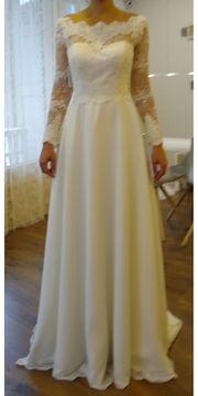 Hochzeitskleid Brautkleid Vintage in Ivory