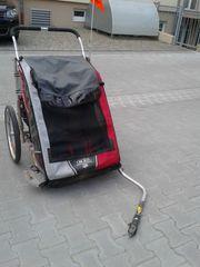 Chariot-Fahrradanhänger für 2 Kinder