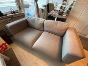 NOCKEBY 2er Sofa in grau