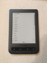 Verkaufe Pocketbook Touch Lux inkl
