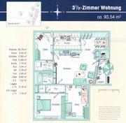 Modernisierte Wohnung mit 3 5