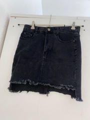 Coole Hotpants Jeansrock Jeans Gr