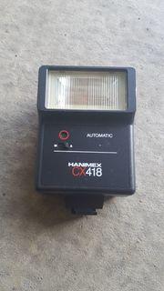 Sammlerstück - Hanimex CX 418 Automatik-Blitz