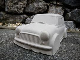Mini Cooper aus Beton