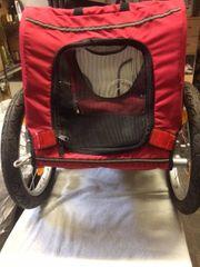 Fahrrad Transportanhänger für kl Hunde
