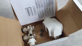 Elektro, Heizungen, Wasserinstallationen - Cosmo Thermostat-Regler Mittenanschlussarmatur