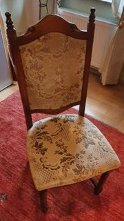 6x Antik Stühle