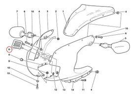 Bild 4 - Ducati Verkleidung Abdeckkappe vorn 750 - Meißen