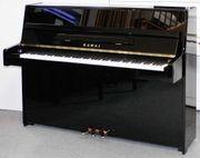 Klavier Kawai K-15 schwarz poliert