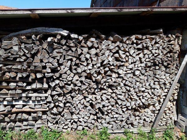 Brennholz trocken weich zu verkaufen