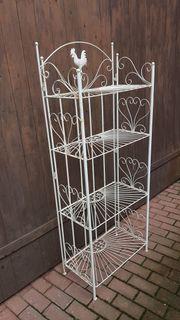 Regal Metallregal Klappbar Garten Deko