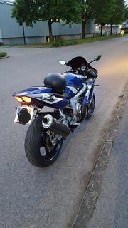 Yamaha R6 frisch vorgeführt