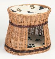 Katzenkorb Katzenhöhle aus Weide
