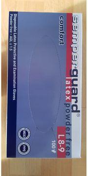 Neue Handschuhe Latex Comfort Größe