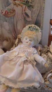 antikes kleines Bisquitporzellanpüppchen Porzellan Puppe