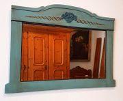 Antiker Spiegel aus Bayern Bauernhaus