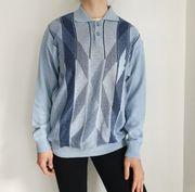 Vintage Pulli Pullover L Cardigan