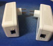 dLan Adapter mit schweizer Stecker