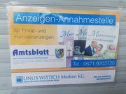 Anzeigenannahme Verbandsblatt