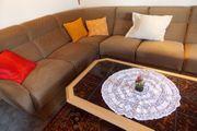 Retro Sofa ecke mit Sessel